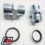 "Mocal 1/2 "" BSP Adaptors and Dowty Seals"